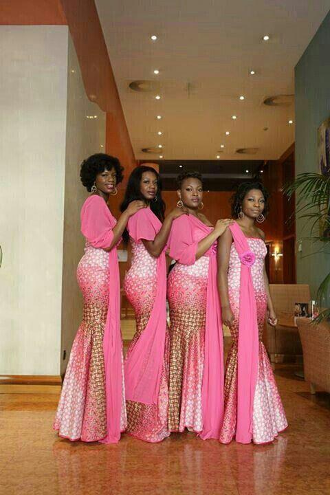Les robes en pagne pour mariage