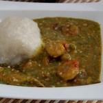 Recette : Sauce Gombo aux crevettes et poisson fumé (Togo)