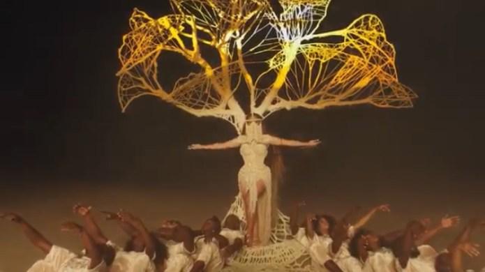 lafalaise dion beyonce tenue clip spirit jewanda 2