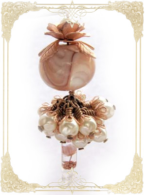 Tassel with Lampwork Bead