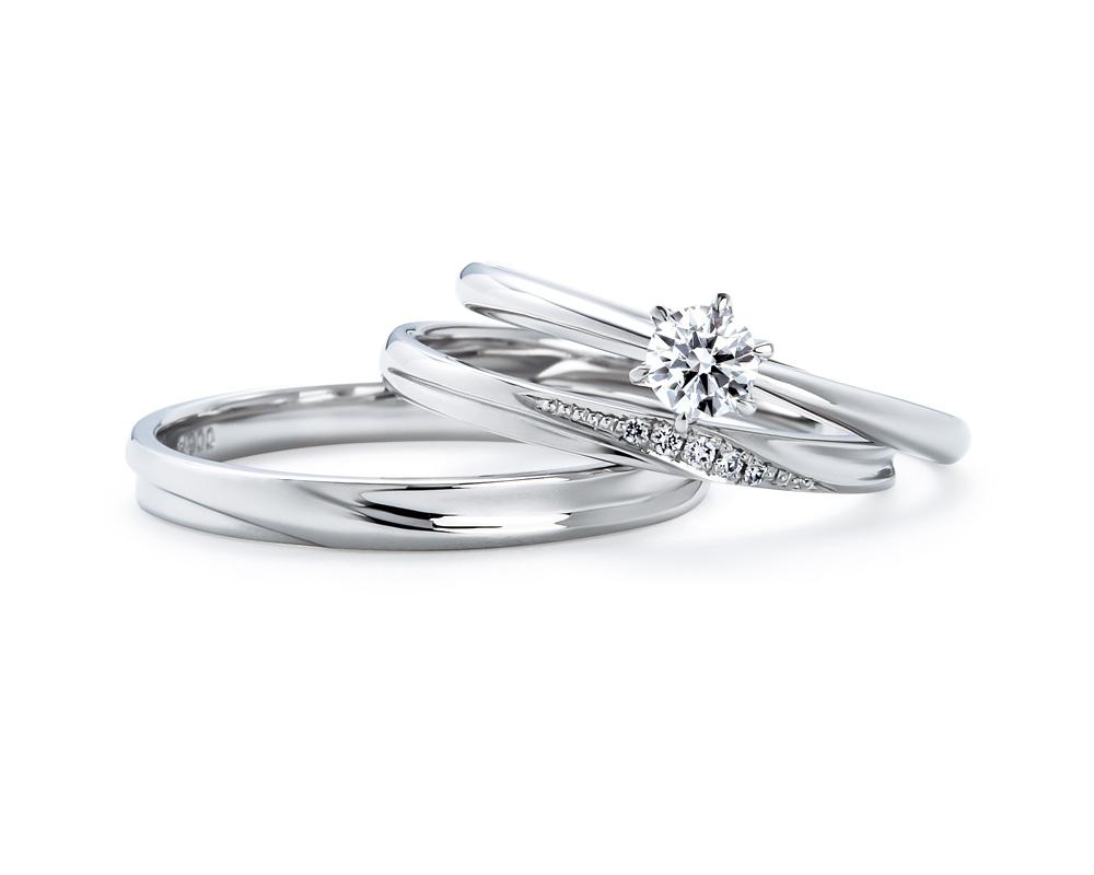 いい夫婦婚約指輪