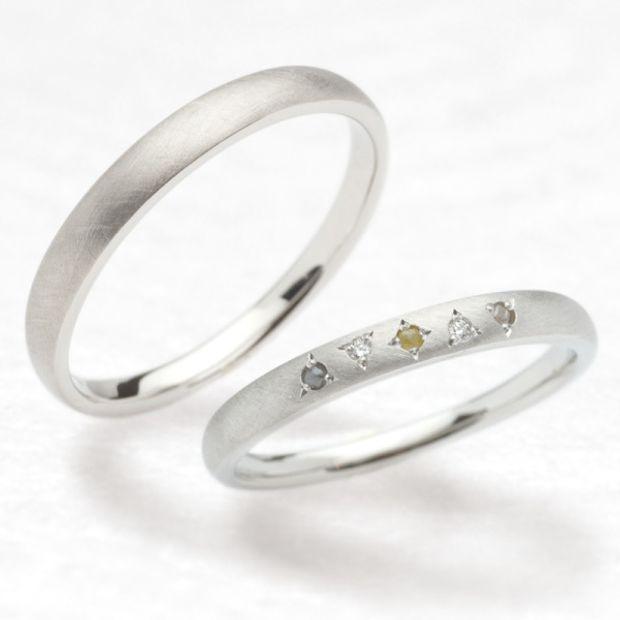 ひな 結婚指輪わたあめ