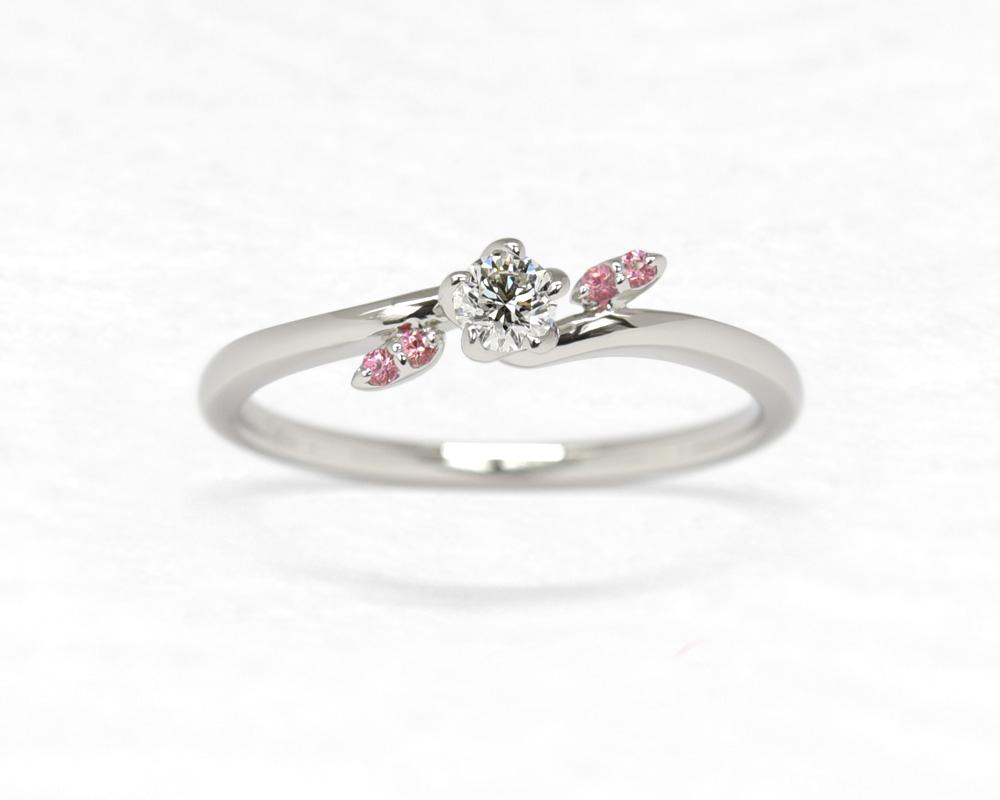 ひな婚約指輪 小梅4