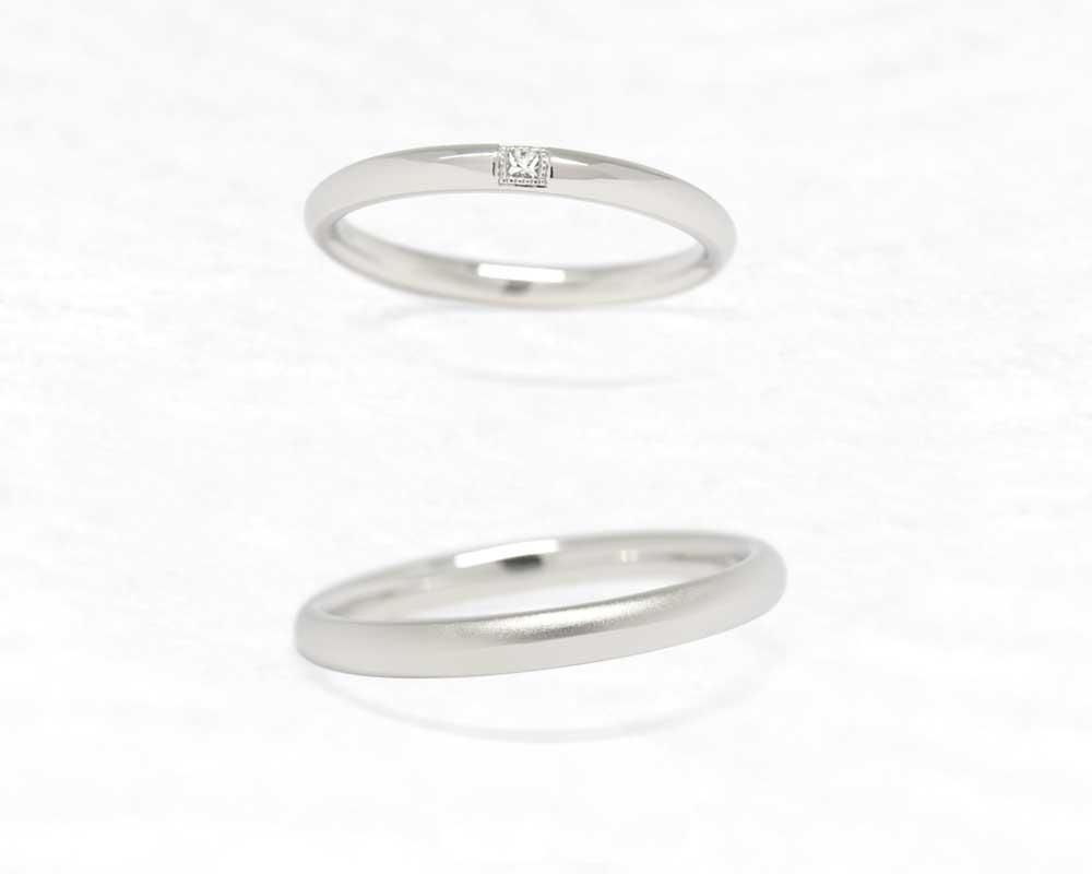 ひな結婚指輪 つみき