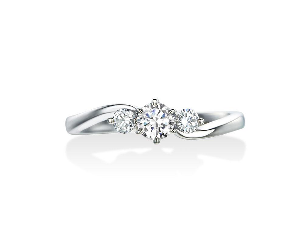 ロイヤルアッシャー婚約指輪JRA0050BP