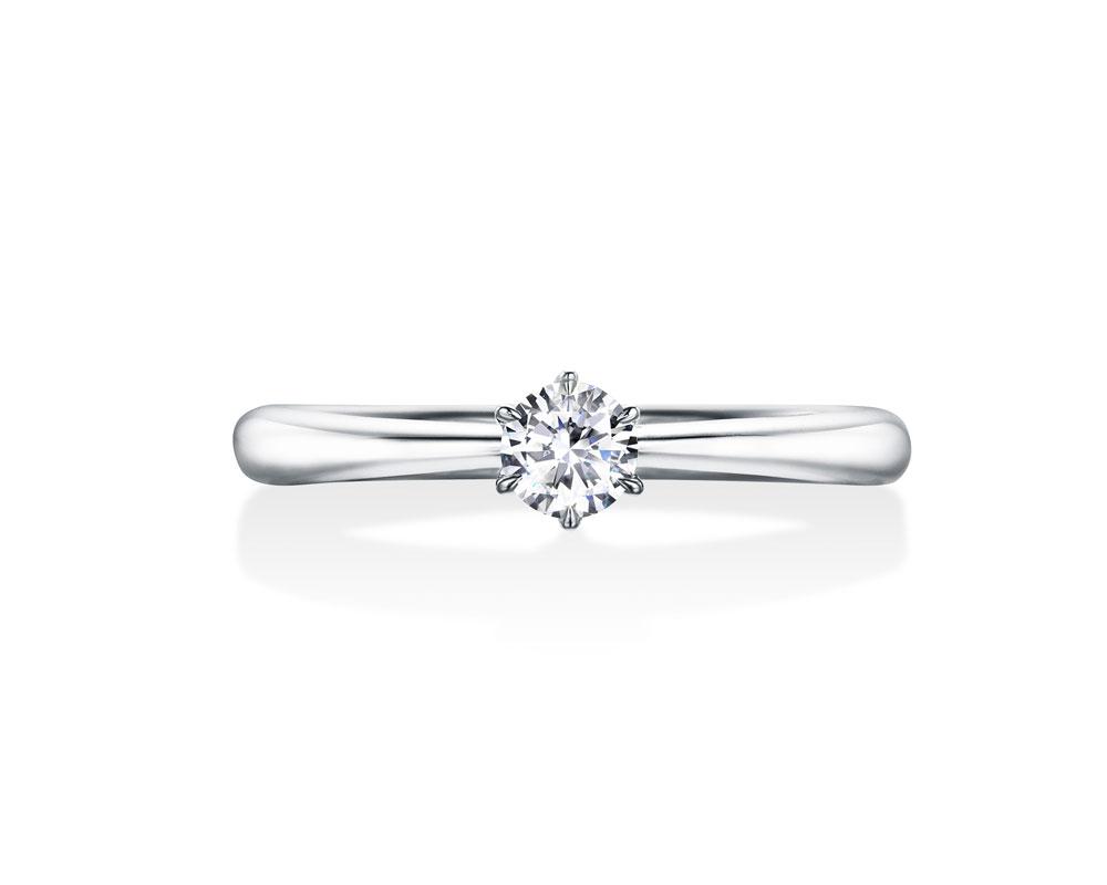ロイヤルアッシャー婚約指輪JRA0349BP