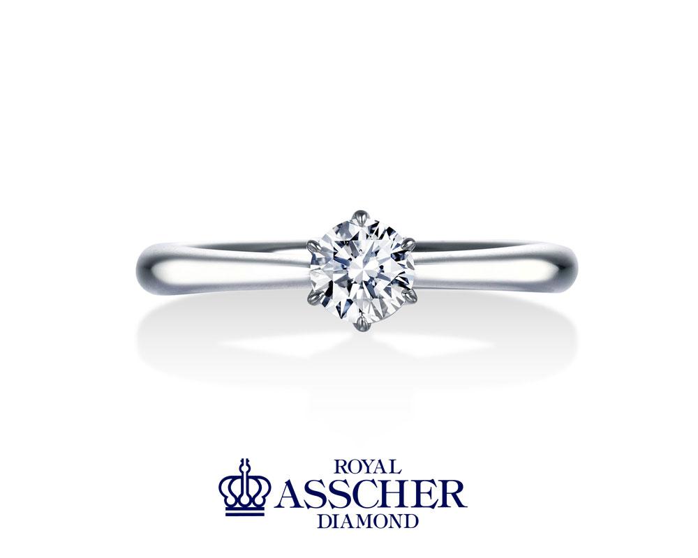 ロイヤルアッシャー婚約指輪ERA251