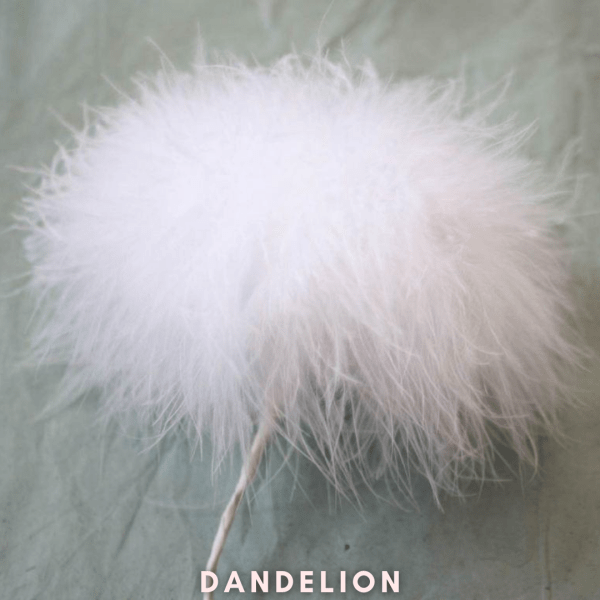 FEATHER FLOWER FOR HOME DECOR