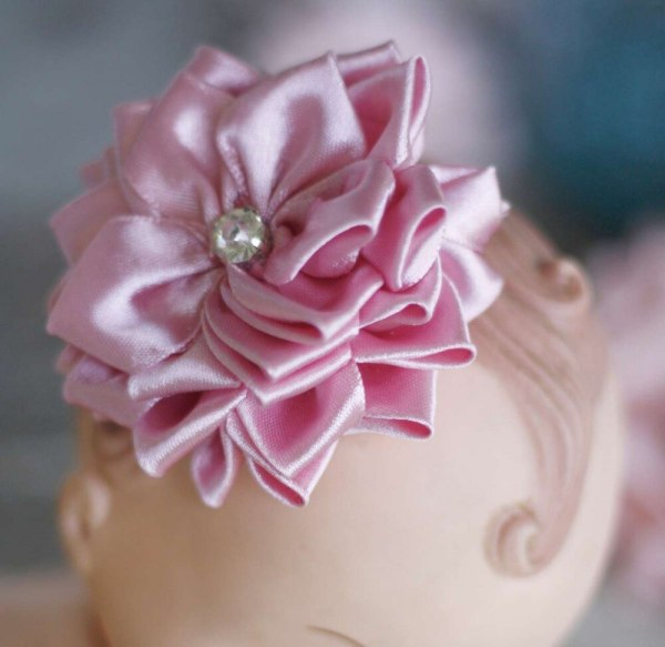Sweet Blossom Fabric Flower and Ribbon Flower Tutorial