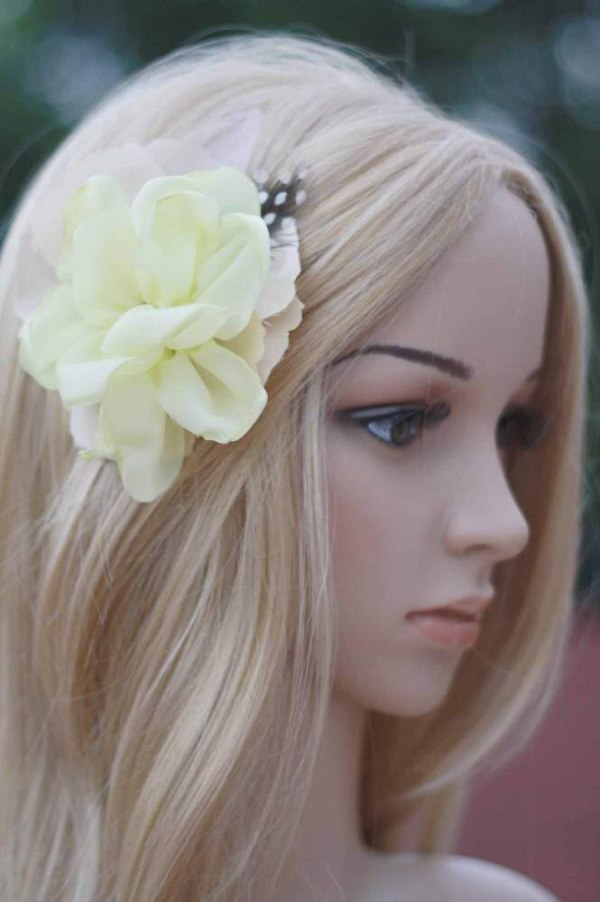 How to make flowers from fabric with the Layered Cabbage Rose Tutorial for hair clips