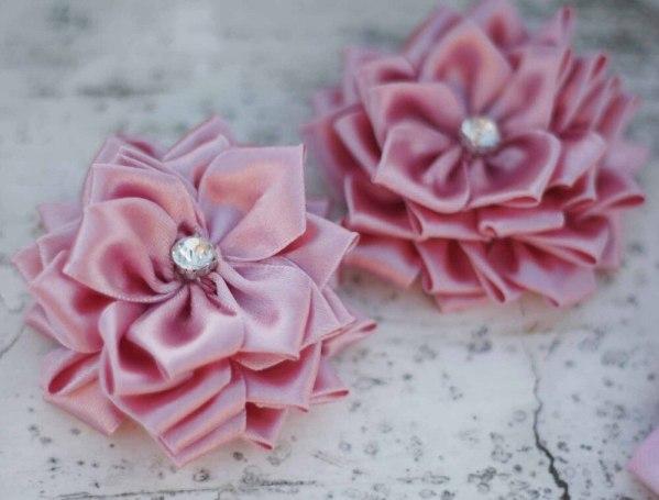 Multi layer Fabric Flowers | Sweet Blossom Tutorial