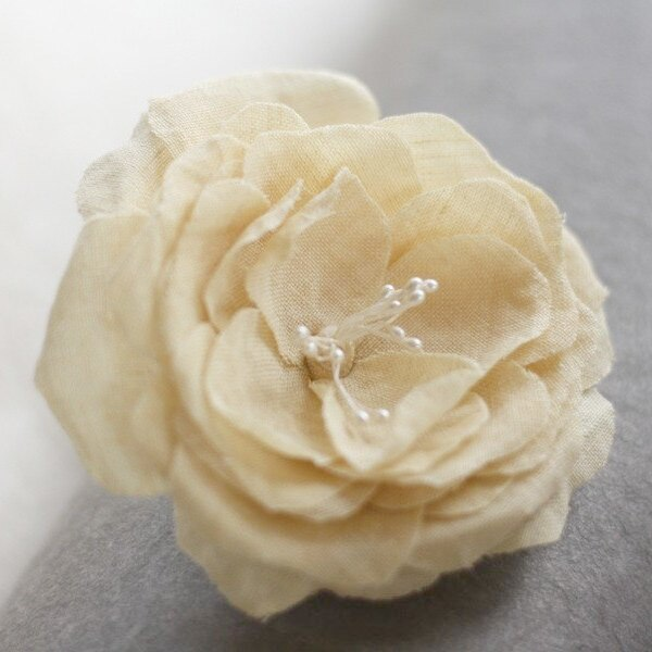 Millinery Fabric Flower Tutorial | Hand Pressed Rose