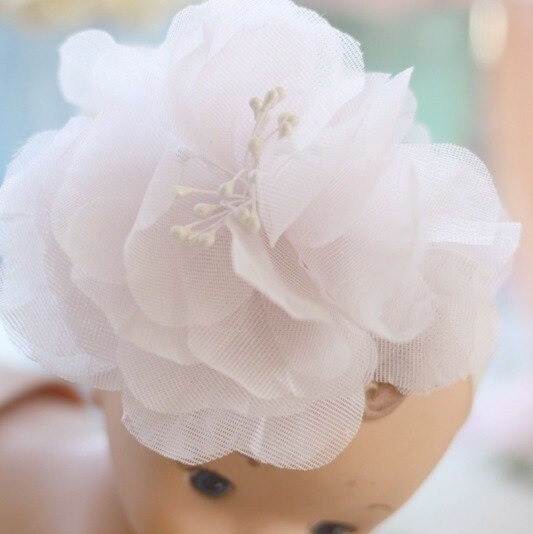 Hair Flower Fascinator Accessory | Fabric Flower Tutorial by Jewel Box Ballerina
