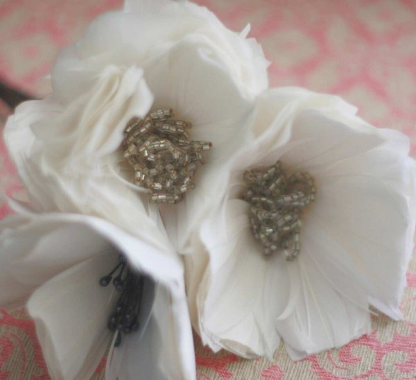 Flowers from Feathers | DIY Feather Poppy Flowers Tutorial
