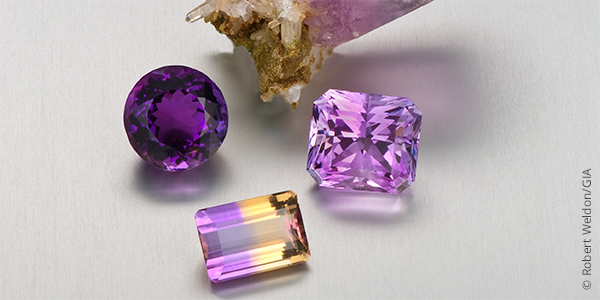 amethyst gemstone february birthstone