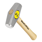 Drilling Hammer 4lb - Hickory Handle Image