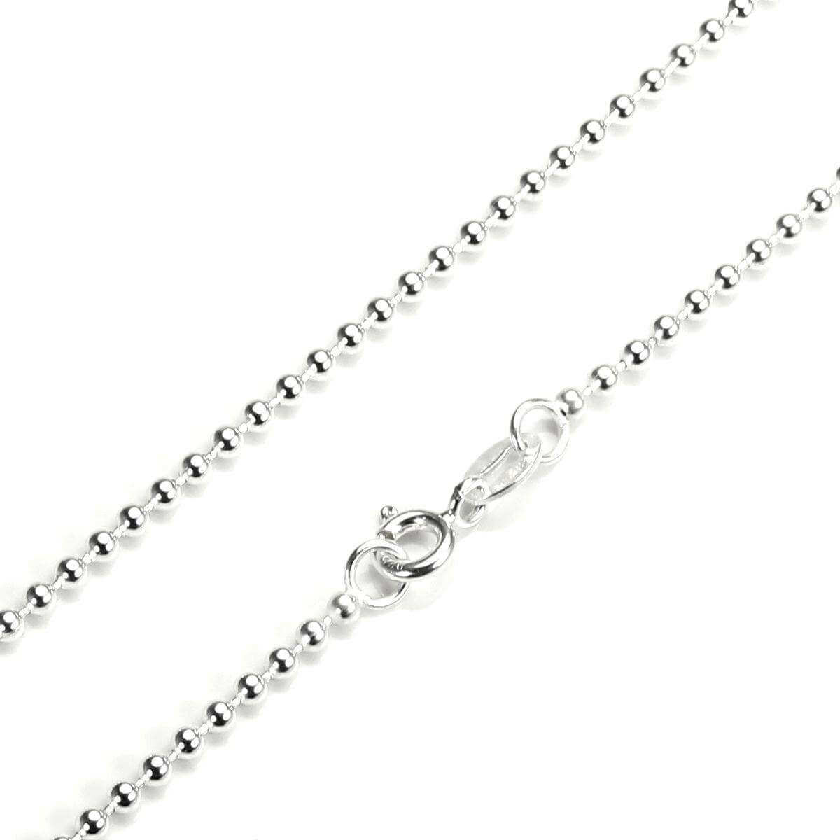 Sterling Silver 2mm Bead Chain