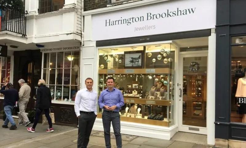Shop 3 >> Setting Up Shop Harrington Brookshaw Jewellers Features