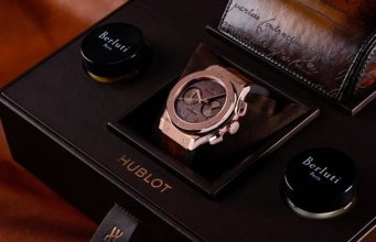 Hublot and Berluti unveil the Classic Fusion Chronograph Berluti