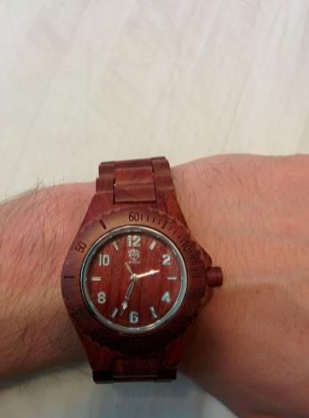 11 - My wooden watch