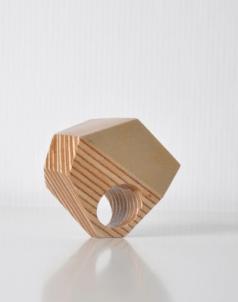 svanna svedestedt plywood,laquer Diamond ring