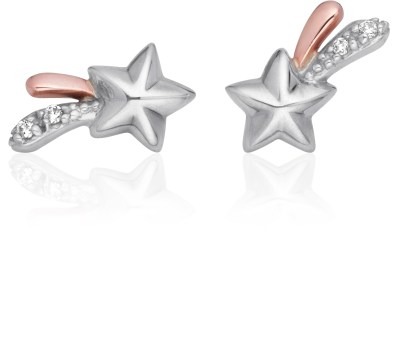 Clogau Make A Wish Earrings set with diamonds £119