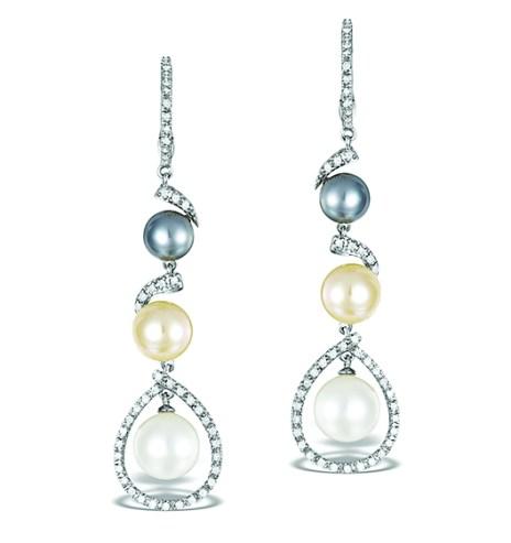 £565 pearl earrings