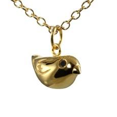 Gold Sparrow Charm NL
