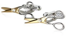 scissor-cufflinks