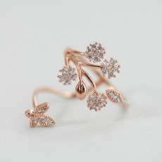 Delicate Crystal Flower