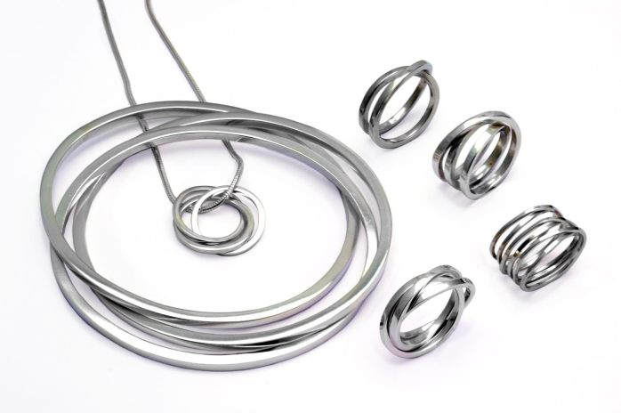 Annika Rutlin's sterling silver United Collection