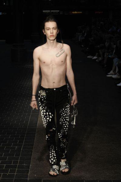 LCFBA17 Catwalk Show. Photography — Roger Dean, Model — Hugo Bors, Leni's Model Management