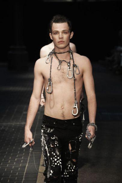 LCFBA17 Catwalk Show. Photography — Roger Dean. Model — Tom Pike, First Model Management