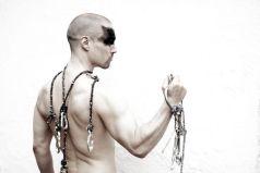 Necklace and Keychain. Photographer — Bojidar Chkorev, model — Michael MG