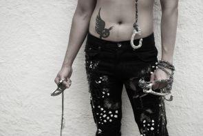 Thumb ring, bangle and jeans. Photographer — Bojidar Chkorev, model — Viet Quoc Ngo