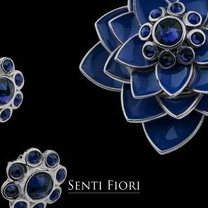 02-senti fiori lotus pendant-ear studs-blue_ls