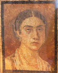 Mosaic from Pompeii history of earrings