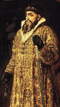 Portrait Ivan the Terrible