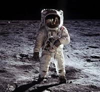 Aldrin on Moon