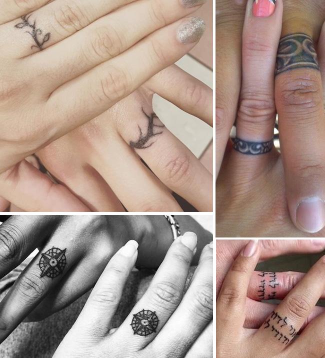 TATTOO WEDDING RINGS Jewelry Secrets