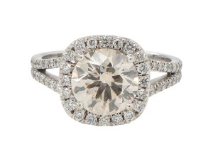 vintage diamond ring photographers