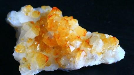 Natural unheated citrine yellow