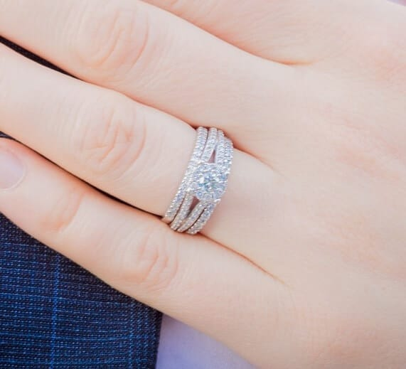 How to match wedding rings to engagement rings Jewelry Guide