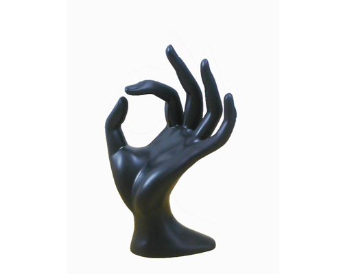 Black Hand Ring Display Ring Display Holder Hand Jewelry