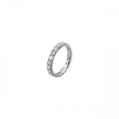 anello acciaio zirconi