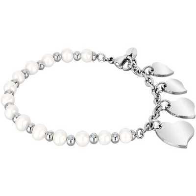 bracciale donna perle