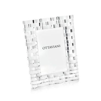 Portafoto ottaviani cristallo