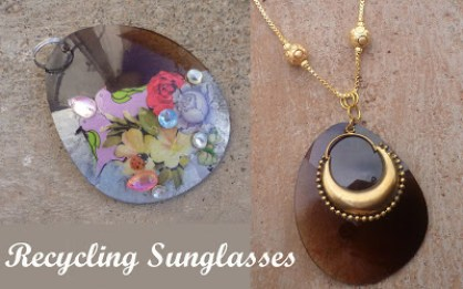 Sunglases pendant tutorial