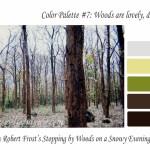 November color palette – Woods are lovely