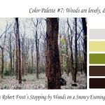 November color palette – Woods are lovely